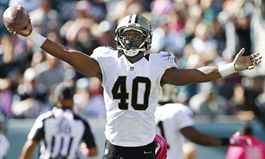 Saints Cornerback Delvin Breaux to Brunch with Fans