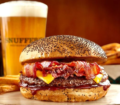 Snuffer's Celebrates Summer with the One-of-a-Kind Dr Pepper Burger