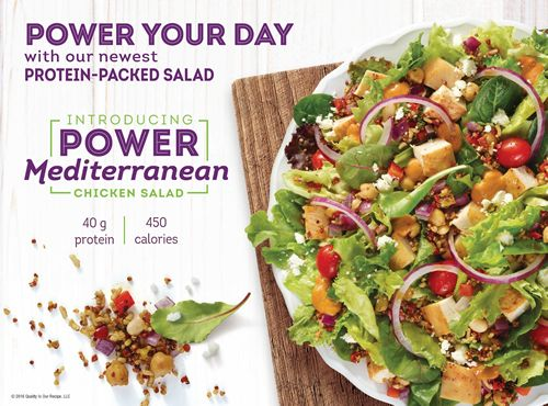 Wendy's Power Mediterranean Chicken Salad: The Easiest, Most Delicious Choice You'll Make All Day