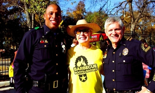 Dickey's Barbecue Pit Serves Those Who Serve Us Through Charitable Foundation, Barbecue, Boots & Badges