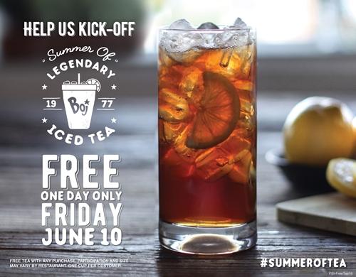 Make Your Summer Legendary: It's the #SummerOfTea at Bojangles'