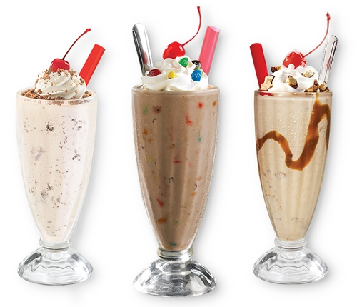 Ruby's Diner Launches Shakes and Sliders Just in Time for Summer