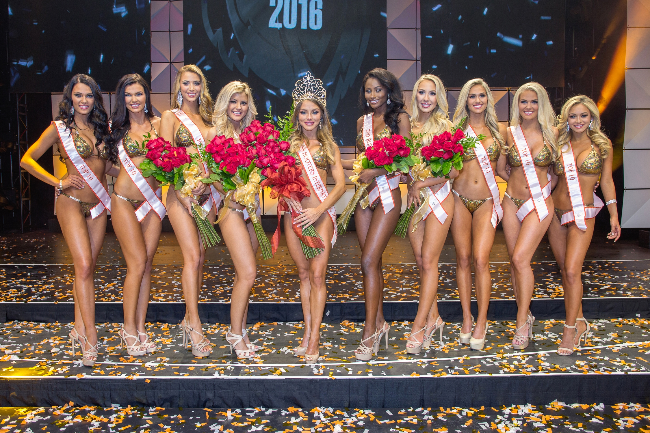 Sable Robbert Crowned 2016 Miss Hooters International