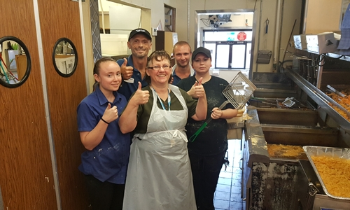 Long John Silver's Delivers Food to 400 Flood Victims in Richwood, WV
