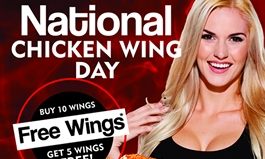 National Chicken Wing Day at WingHouse Bar & Grill