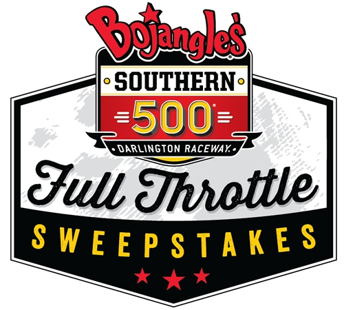 "The Race is on for the Bojangles' Southern 500 ""Full Throttle"" Sweepstakes"