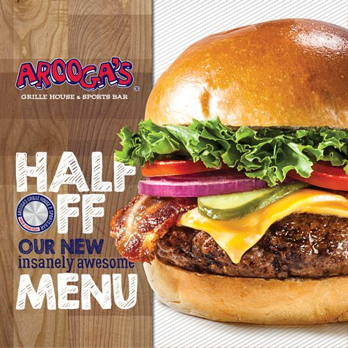 Arooga's Launches A Revamped Menu with Awesome New Items