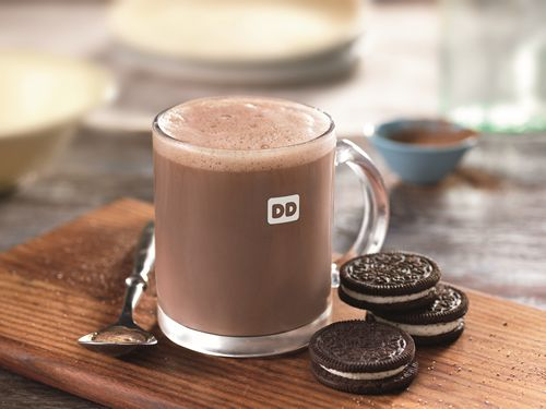 Dunkin' Donuts Launches New OREO Flavored Hot Chocolate to Sweeten the Season