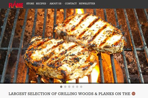 Flame Grilling Products Launches State-Of-The-Art Website