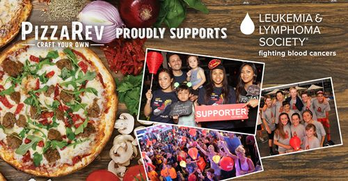 PizzaRev Supports the Leukemia & Lymphoma Society During Blood Cancer Awareness Month