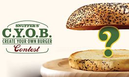 Snuffer's Launches 'Create Your Own Burger' Contest