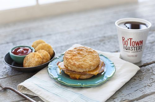 Transcending the Average Breakfast: Bojangles' Introduces Cheddar Bo with Country Ham Biscuit