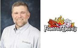 Famous Dave's of America Appoints Restaurant Industry Veteran Michael W. Lister as Chief Executive Officer, Succeeding Adam J. Wright