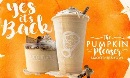 Satisfy Your Holiday Cravings with Juice It Up!'s Pumpkin Pleasers