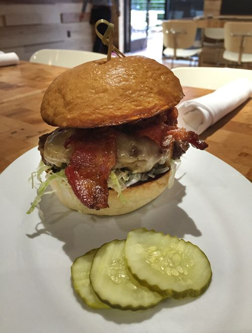 The Big Pig Burger Wins Zinburger Wine & Burger Bar's Fifth Annual Burger Contest
