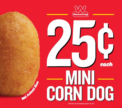 Wienerschnitzel Dishes Up Mini Corn Dogs at a Huge Value