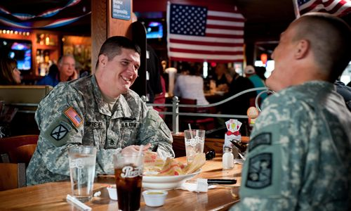 Applebee's to Celebrate Veterans Day by Offering All Veterans and Active Duty Military Personnel a Free Meal
