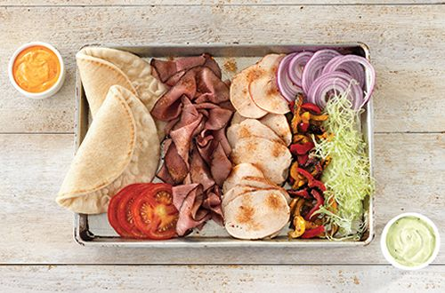 Fajita Flatbreads Are Back at Arby's with New Slow-Cooked Chicken and Spicy Ghost Pepper Sauce