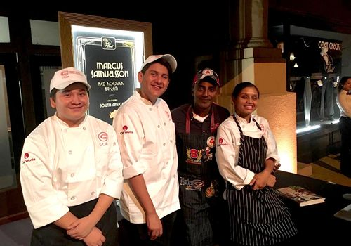Chef Works Partners with Careers through Culinary Arts Program (C-CAP)