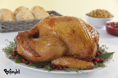 Thanksgiving Dinner is Extra Special with a Bojangles' Seasoned Fried Turkey
