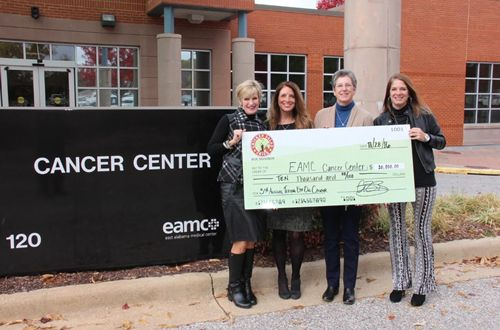 "Chicken Salad Chick Foundation Donates $20,000 to Local Cancer Centers Through ""Teeing off on Cancer"" Golf Classic"