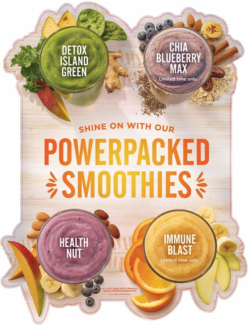 Get Ready to Shine On in the New Year with Tropical Smoothie Café