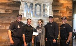 MOD Pizza Donates Over $240,000 to Support At-Risk Youth and Families