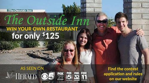 The Outside Inn Set to Give Away Restaurant in Essay Contest