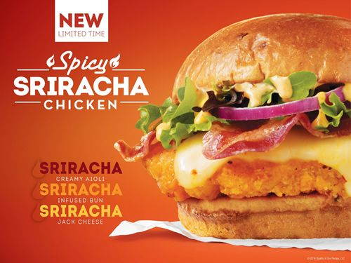 Wendy's New Spicy Sriracha Chicken Sandwich Takes Sriracha To A New Level