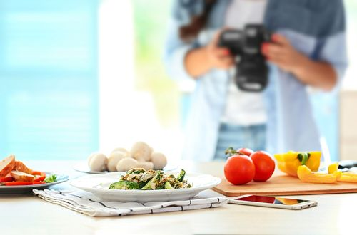 How to Take Electrifying Shots of Food for Restaurant Menus