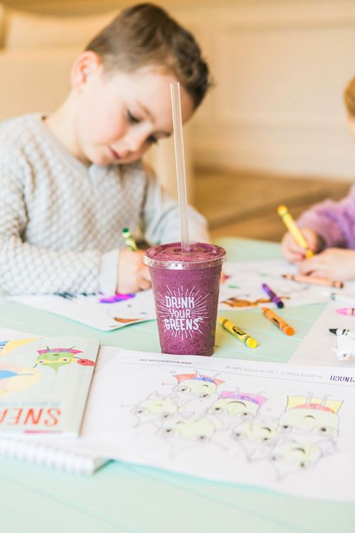 Nékter Juice Bar Co-Founder Debuts First Children's Book, Sneaky Spinach, to Support Children's Charities