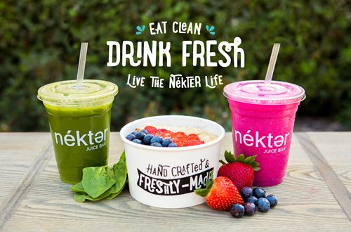 Nékter Juice Bar Set to Reach 100th Restaurant Milestone in 2017 with Multi-Unit Franchise Agreements in Florida, Washington, Utah and Texas