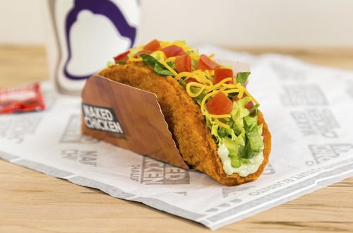 Taco Bell Exposes the Naked Chicken Chalupa, Launches Nationwide on January 26