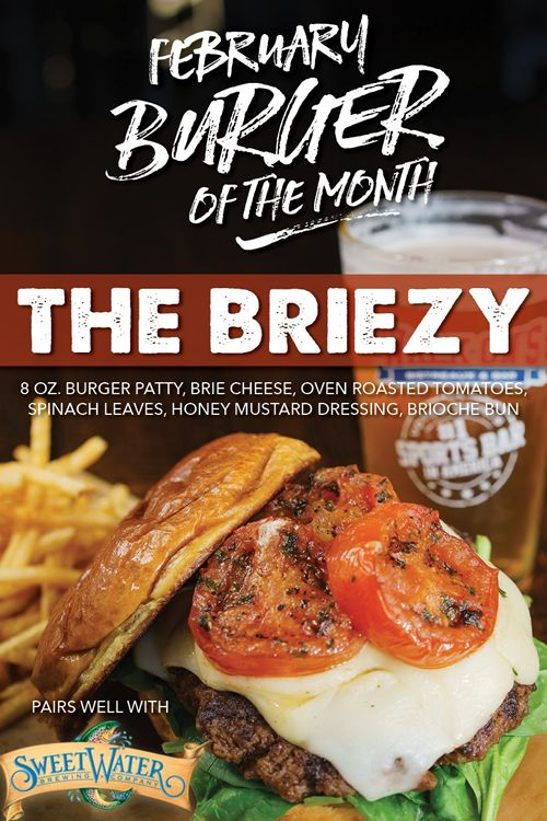 Walk-On's Debuts 'The Briezy' in February