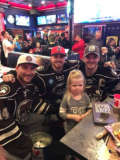 Arooga's and the Hershey Bears Raise $7500 for 'Running for Rachel' during Annual Event