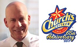 Church's Chicken Names Pete Servold Executive Vice President of U.S. Operations