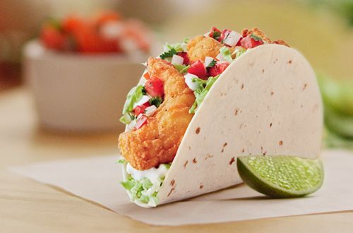 Del Taco Makes a Big Splash With Crispy Jumbo Shrimp Tacos and Burritos