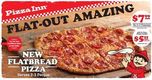 Pizza Inn Introduces New FLATBREAD Pizza