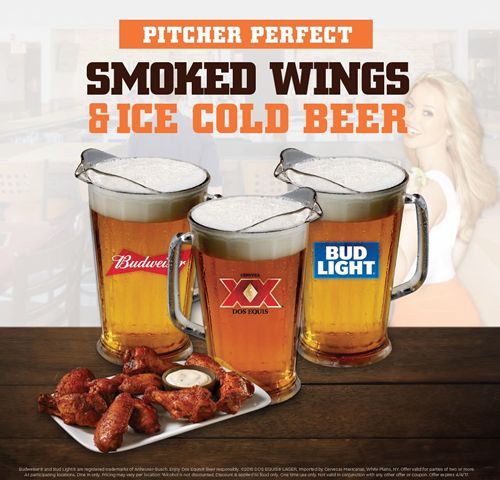 Hooters Fires Up Smoked Wings for the Tournament Games
