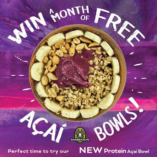 Juice It Up! to Give Away Nearly 3,000 Açaí Bowls