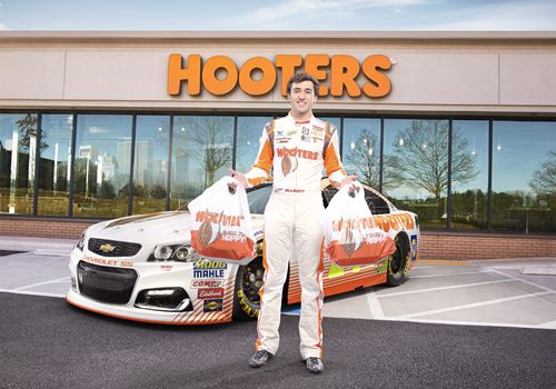 NASCAR's Chase Elliott Takes the Wheel as Director of Delivery at Hooters