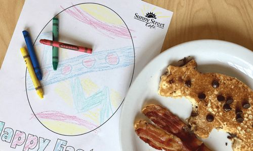 Sunny Street Cafe Celebrates Spring with a Coloring Contest