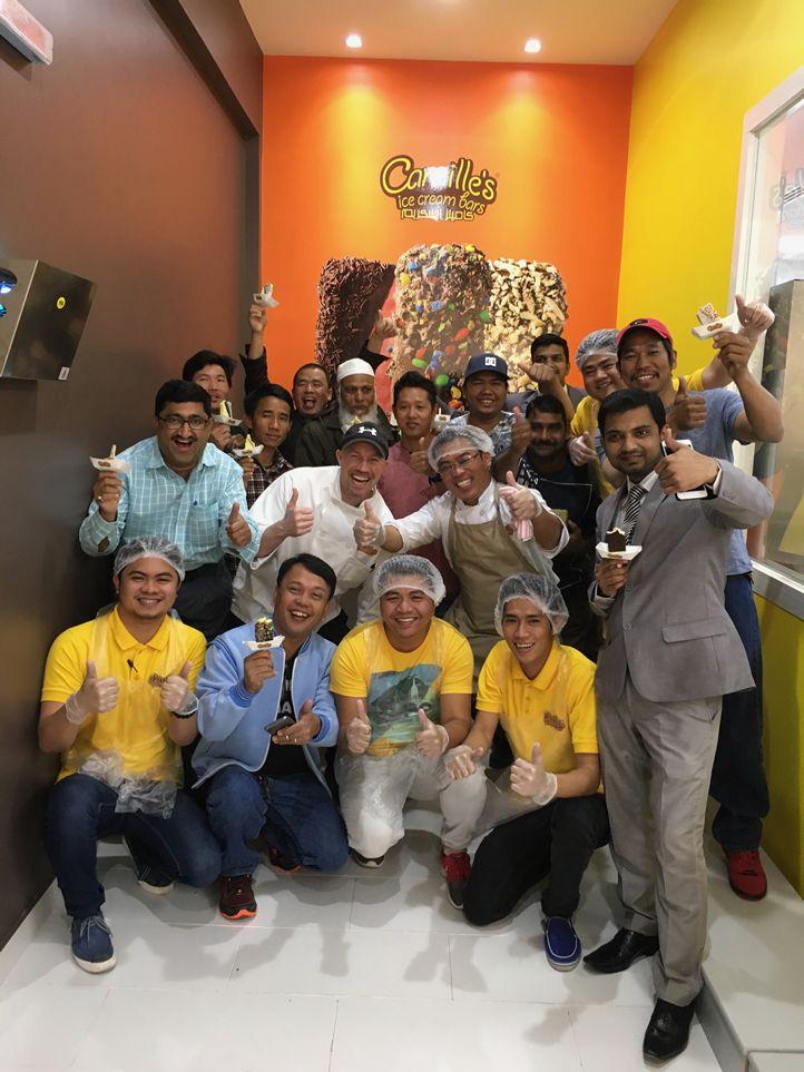 Camille's Ice Cream Bars Brings Smiles into Saudi Arabia