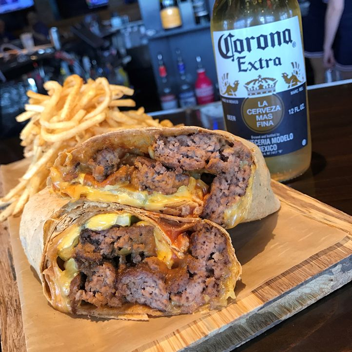 Cheeseburger Burrito Adds Mexican Flair to Walk-On's Menu