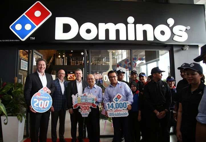 Domino's Opens 14,000th Store Worldwide