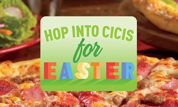 Hop Over to Cicis For a Free Kids Buffet