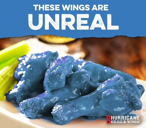 "Hurricane Grill & Wings' Aprils Fools' Day ""Blue Wing Sauce"" Hoax Goes Viral for Autism Awareness"