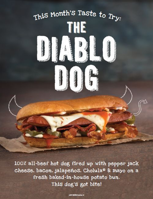 Knocking It Out of the Park: MOOYAH Burgers, Fries & Shakes Launches The Diablo Dog
