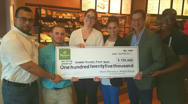 New England's Largest Panera Bread Franchisee Donates $275,000 To Help Strike Out Hunger Across New England