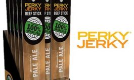 Perky Jerky Launches Premium Line of 100 Percent Grass-Fed Beef Sticks